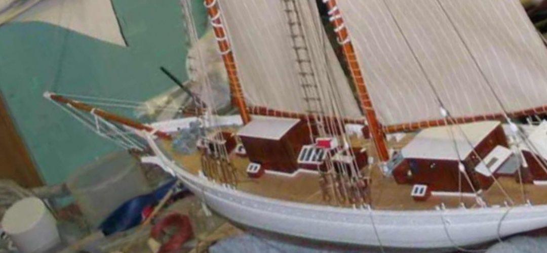Maquette de La Belle Poule – Bateau école de la Marine Nationale