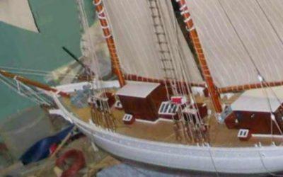 Maquette de La Belle Poule – Voilier – goélette à hunier – Bateau école de la Marine Nationale