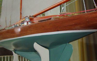 Maquettes de Requin – Bateau de plaisance et de régate – Voilier – Sloop – Plan Gunnar L. Stenbäck