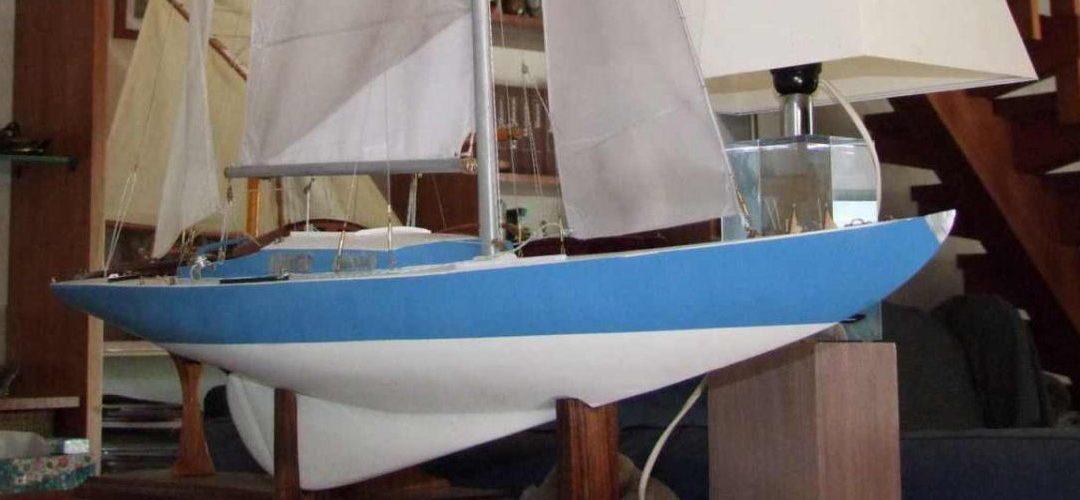 Maquette de Solveig – Requin – Bateau de plaisance et de régate – Voilier