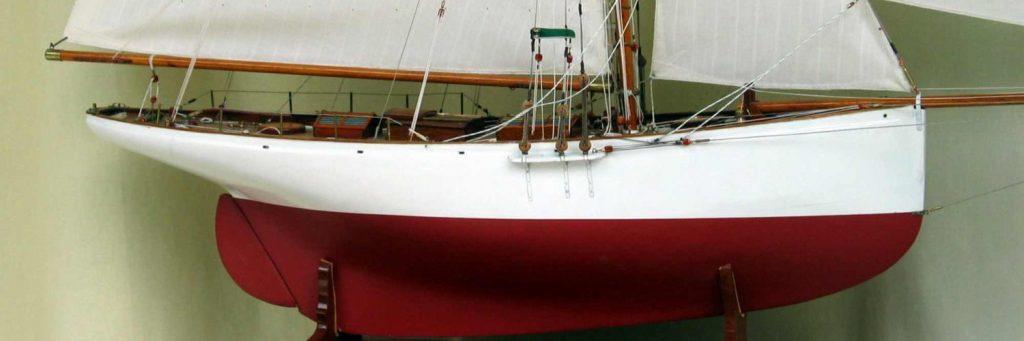 Maquette de bateau Partridge Yacht classique Voilier