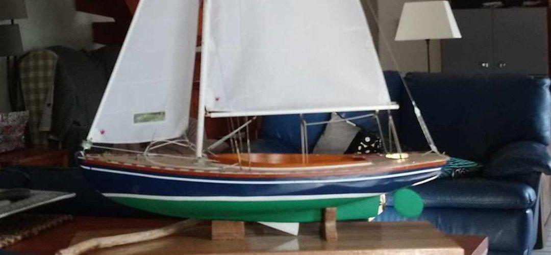Maquette de Tofinou 7 – Bateau de plaisance – Voilier