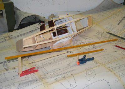 Maquette de voilier Corsaire Bateau de plaisance croiseur côtier