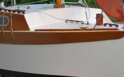 Maquette de Corsaire – Bateau de plaisance – Voilier croiseur côtier – PlanJean-Jacques Herbulot
