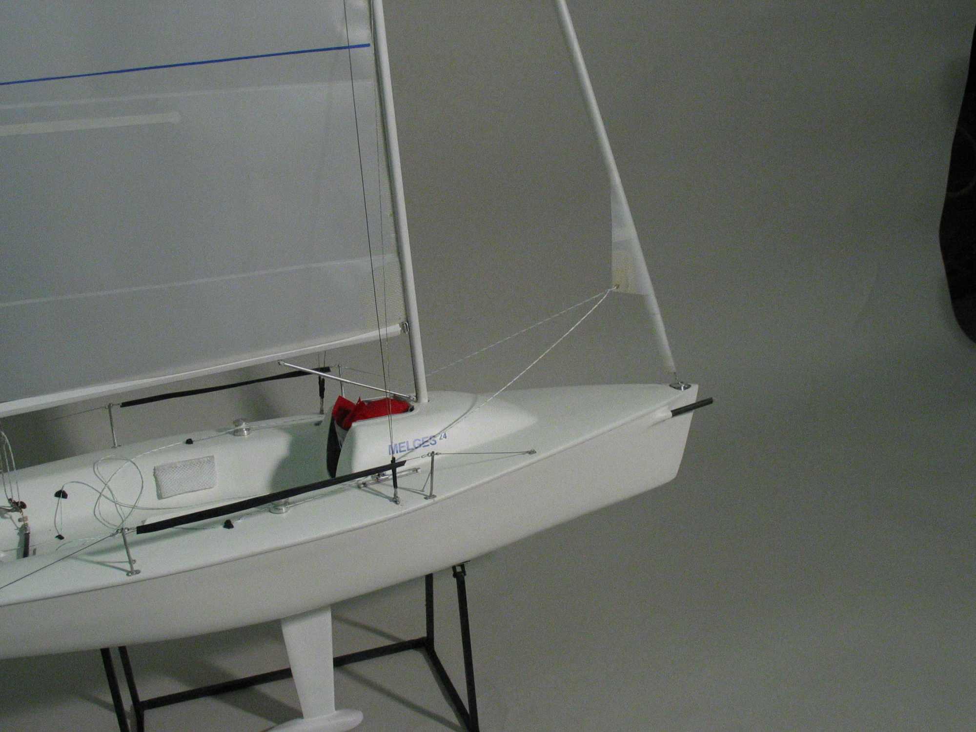 Maquette de Melges 24 Bateau de régate Voilier