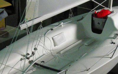 Maquette de Melges 24 – Bateau de régate – Voilier – Sloop – Plan  Reichel/Pugh Yacht Design