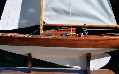 Maquette de Phylomen's – Requin – Bateau de plaisance et de régate – Voilier – Sloop – Plan Gunnar L. Stenbäck