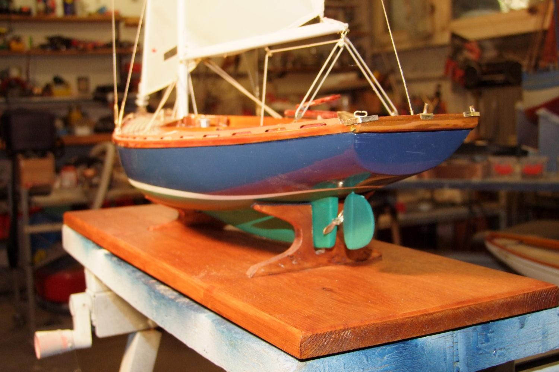 Maquette de Tofinou 7 Bateau de plaisance Voilier