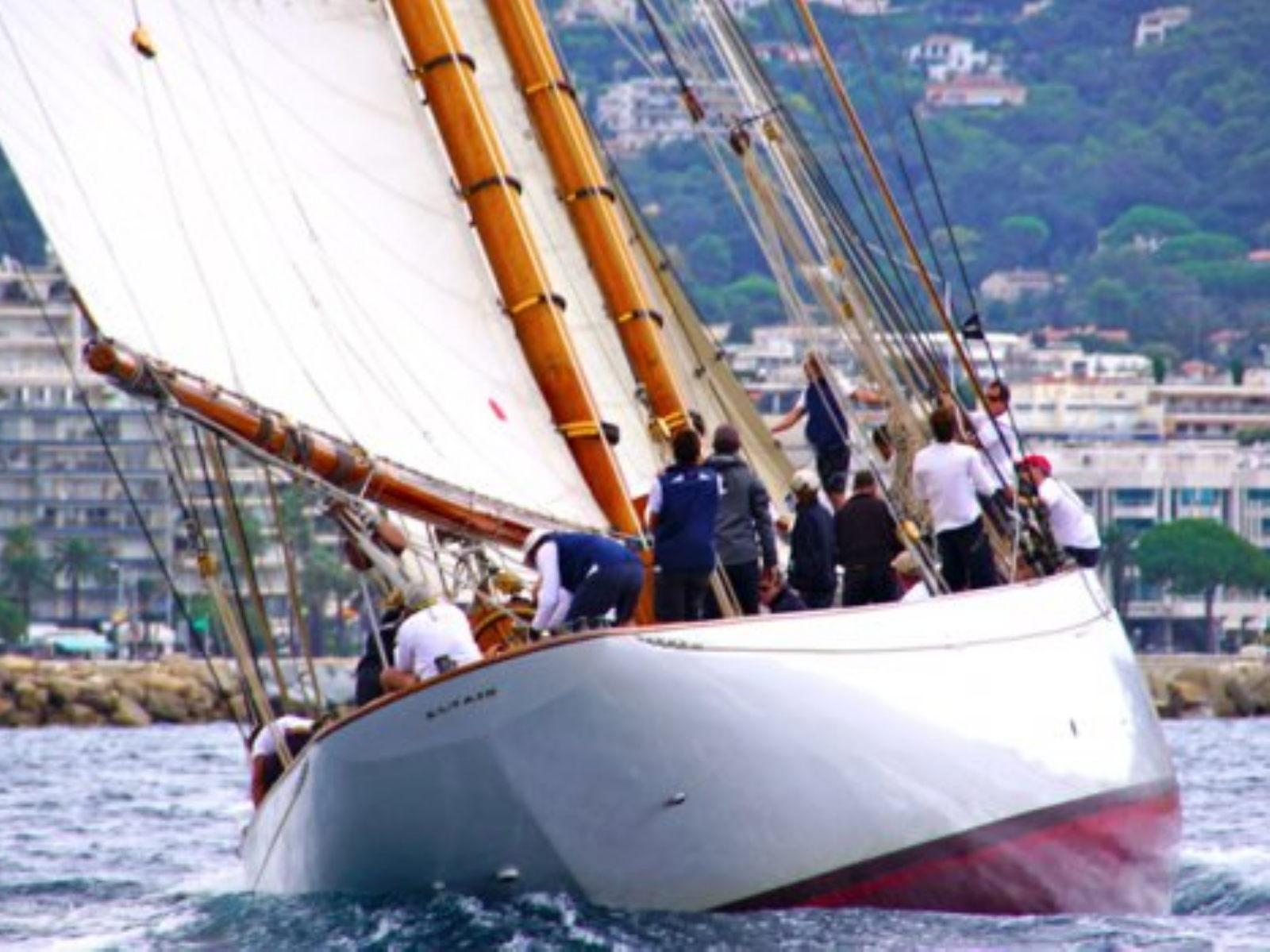 Maquette de Altaïr - Yacht classique