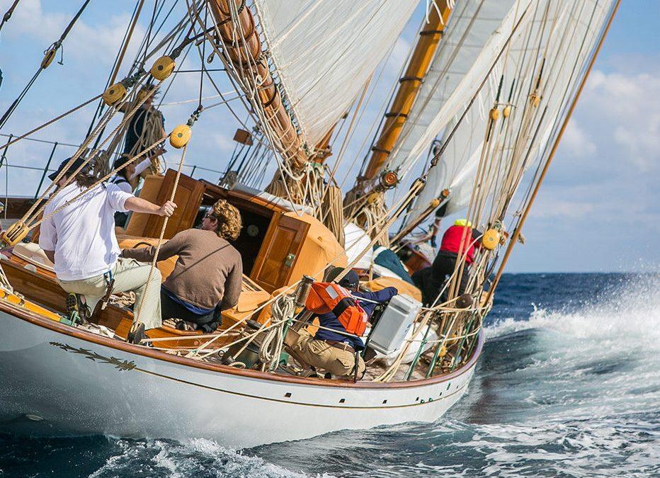 Maquette de bateau – Altaïr – Yacht classique – Goélette – Plan William Fife