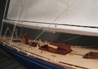 Maquette de Endeavour - Bateau - Yacht classique - Voilier Coupe América classe J