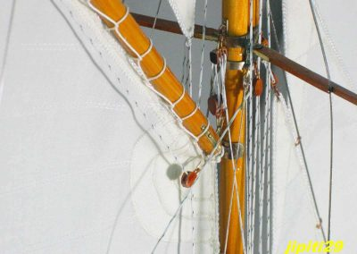 Accueil espars, Maquette de Pen Duick, bateau de Tabarly, Yacht classique, voilier Plan William Fife