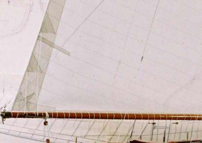 Accueil bôme, Maquette de Pen Duick, bateau de Tabarly, Yacht classique, voilier Plan William Fife