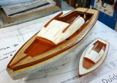 les 2 bélouga vue de avant construction de maquette de Bélouga,bateau de plaisance,voilier croiseur côtier