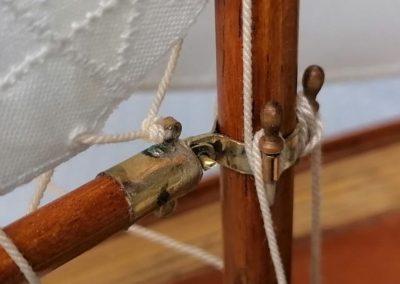 galerie détail, vit de mulet de maquette de Bélouga,bateau de plaisance,voilier croiseur côtier