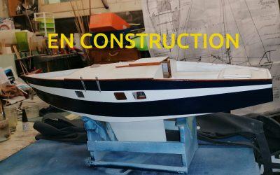 Maquette de Big or No – Muscadet – Bateau de plaisance – Voilier croiseur côtier – Sloop – Plan Ph Harlé
