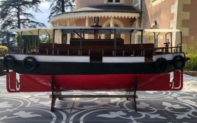 Feriboite, le bateau « de » Marcel Pagnol